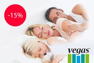 Скидка 15% на матрасы Vegas Comfort от производителя!