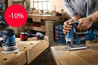 Скидка 10% на электроинструмент Bosch от магазина «Удачник»
