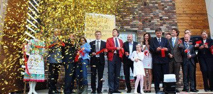 Репортаж с открытия первого мультикомфортного дома в Беларуси