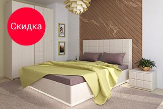 Скидка на наборы мебели для гостиных и спален бренда 3Dom
