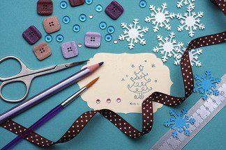 Елочные украшения и игрушки своими руками