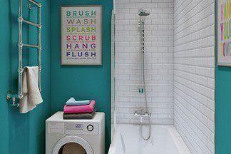 Бодрящая ванная комната: создаем интересный  интерьер на 3 кв.м.