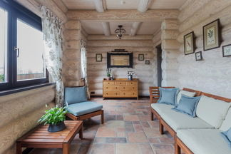 Домик в Боярах: два этажа уюта и спокойствия