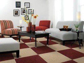 Как выбрать ковровую плитку?