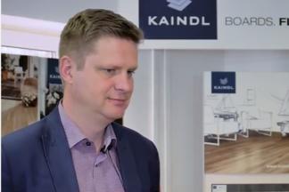 Интервью представителя завода Kaindl в Минском showroome