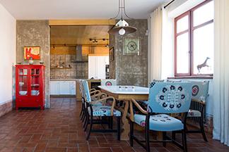 Интерьер пятикомнатной квартиры в Москве от  белорусского дизайнера: 162  кв.м. и элементы колониального стиля