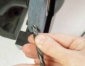 Заточка сверла по металлу: инструкция к действию