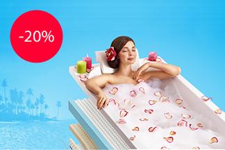Спешите воспользоваться 20%-ной скидкой при покупке матрасов Exclusive и Modern от компании «Мягкая мебель» до 31 марта!