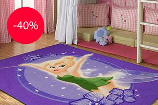 Успей купить ковер Disney для комнаты малыша со скидкой в «Carpet Hall»!