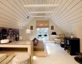 Спальня в мансарде: идеи по оформлению интерьера