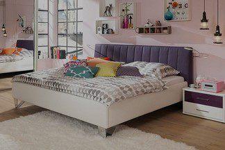 Лавандовый, пушистый ковер  и  немного декора: обустраиваем спальню своими  силами