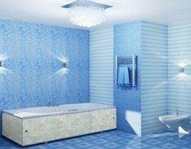 Экран для ванной комнаты своими руками