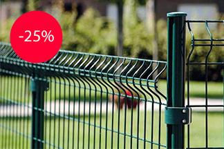 Акция! -25% на евроограждения (3Д сетка) от компании «Изогрупп»