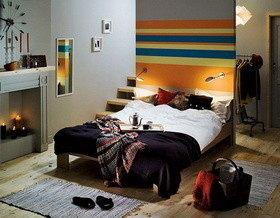 Дизайн спальни-гостиной с перегородкой