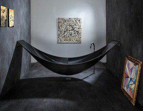 Черная ванная: идеи, примеры, советы