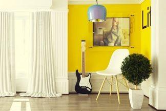 Желтый цвет в вашем интерьере: отличные идеи для вдохновения
