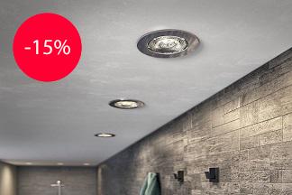 Скидки до 15% на встроенные светильники в салоне «Magic Lamp studios»