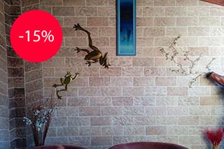 Скидка 15% на гибкий мрамор от «Эвитрейд»!