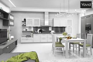 Объединить кухню с гостиной: тренды, тонкости и советы при выборе мебели
