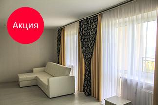 Закажите пошив штор для двух окон — и получите пошив штор на третье окно в подарок!