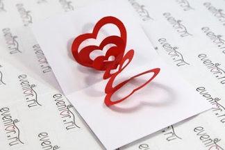 Валентинки на День всех влюбленных своими руками