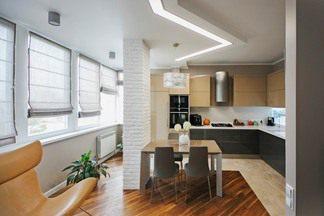 В гостях: Line Flat, или квартира с линейным освещением на  потолке