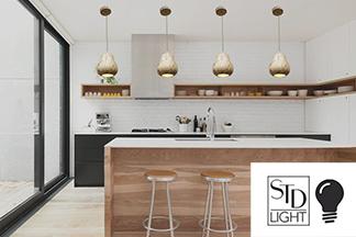 Подвесные точечные светильники: стильно, практично, экономно!