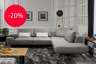 Скидки 20% на определенные модели мебели фабрики KLER