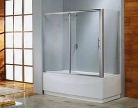Как установить ширму в ванной?