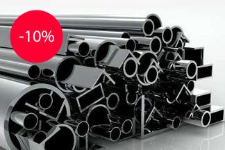 Железное предложение – Скидка на металл 10% от компании «Металлобаза-Алмиэр»