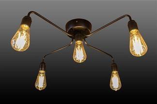 Новые световые решения в стиле Лофт