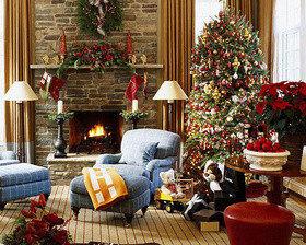 Рождественские интерьеры: 17 идей для вдохновения!