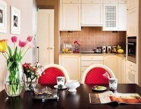 Угловая кухня без острых углов