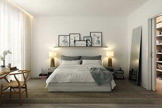 Кровать за 2 100 000 рублей, пушистый ковер и светлые оттенки: повторяем интерьер с картинки