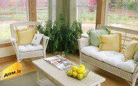 Плетеная мебель для дома и улицы