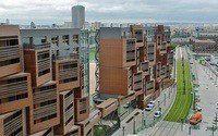 Студенческое общежитие в Париже от OFIS Arhitekti