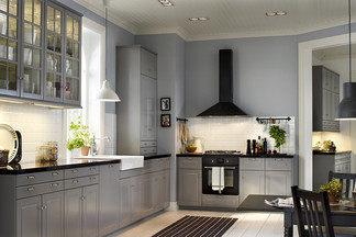 Серый в интерьере кухни: как  повторить своими силами?