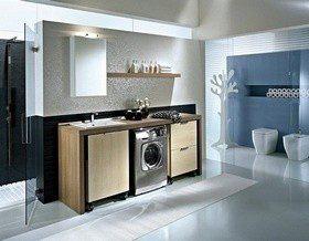 12 вариантов мебели под стиральную машину