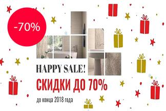 HAPPY SALE! Скидки до 70% на керамическую плитку в салоне «Optimum ceramica»