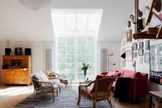 Если у вас дом: обустраиваем гостиную в стиле этно, вешаем ковры и ностальгируем