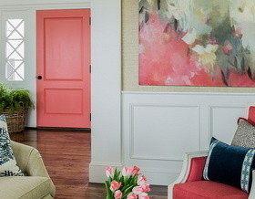 Как задекорировать межкомнатные двери?