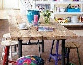Делаем простой и удобный стол для дачи