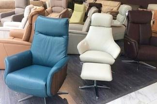 Фотофакт: в салоне мебели «AVANTI» появилась новая коллекция кресел-реклайнеров