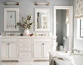 Мы выбрали: 10 моделей мебели для ванной в светлых тонах