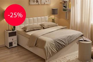 Хотите ожидать приход весны в тепле и комфорте? Скидка 25% на серии мебели Марсель, Марчиана, Майя!