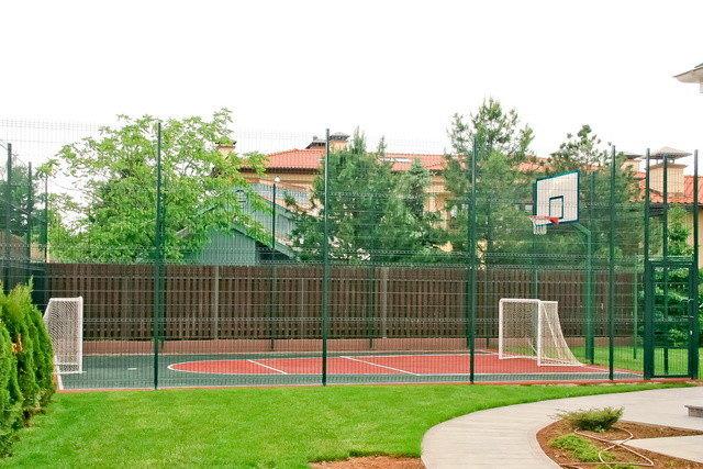 школьные спортивные площадки
