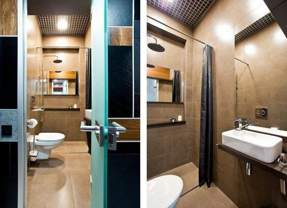 интерьер ванной совмещенной с туалетом дизайн фото маленькая