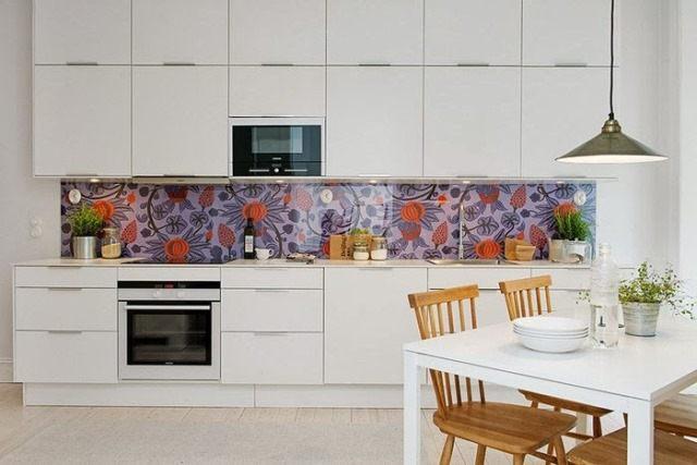 кухня в скандинавском стиле фото цвета освещение в декоре