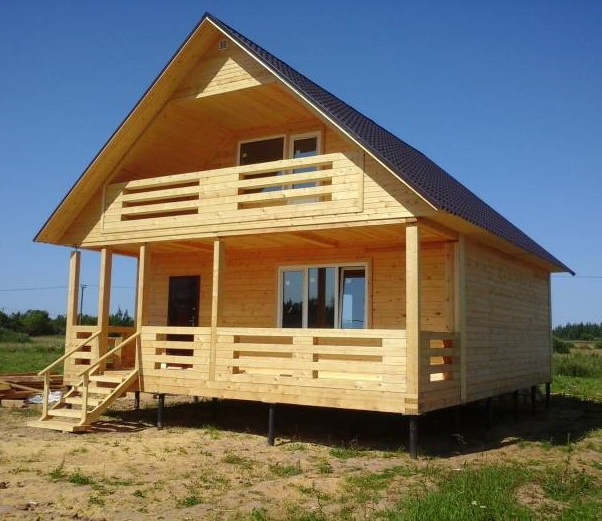 Строительство домов из бруса под ключ